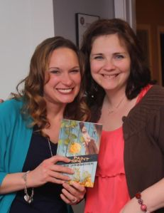"My pal Amelia! Her book ""Isn't It Time For A Coffee Break"" released in January."