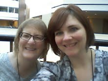 The meeting of the Suzie/Susie's! Author Suzie Johnson