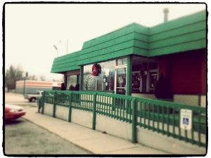 jackies diner outside