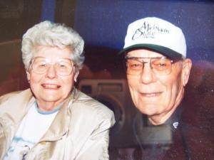 I lifted this from my cousin Mike Pung's Facebook page. Aunt Bertha and Uncle Ken.