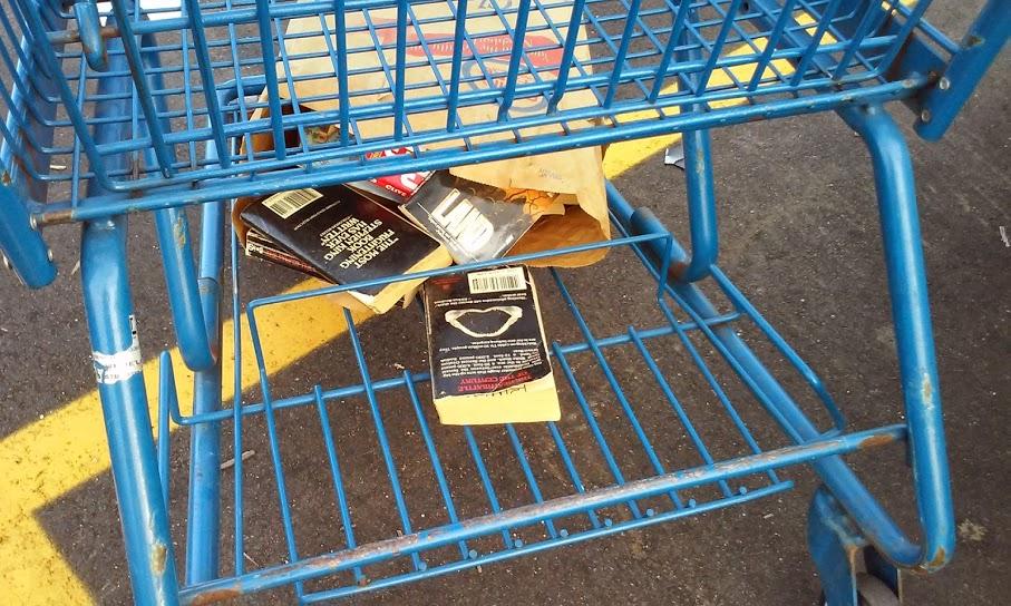 books in cart