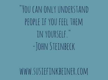 understand people Steinbeck