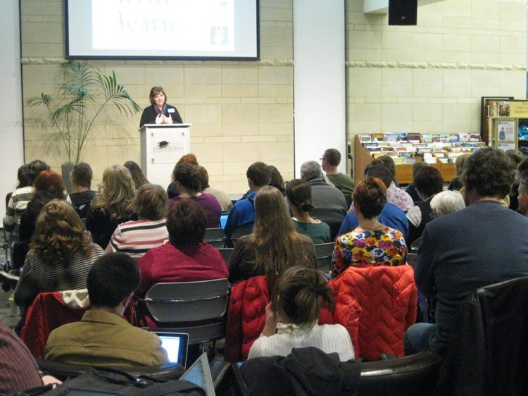 This is me, speaking at Jot last March. I'm not kidding, it's a highlight of my career.
