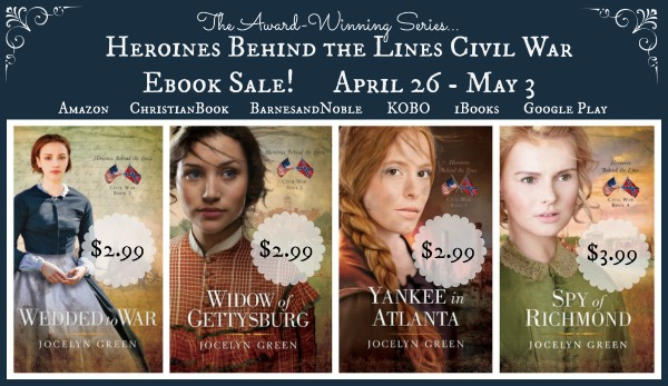 Don't miss out on this incredible sale price for all four of Jocelyn's novels. I've read every word of them and they are wonderful. These characters are tough cookies. Go on and get your downloads! Just click this picture!