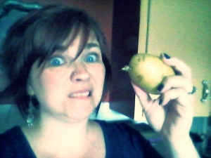This potato was a creepy leer monger. Look at that nasty eye!